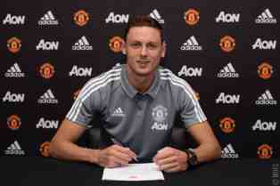 Nemanja Matic at Man United