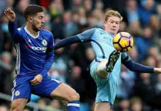 Chelsea star Eden Hazard beats Man City rival De Bruyne to Belgian award